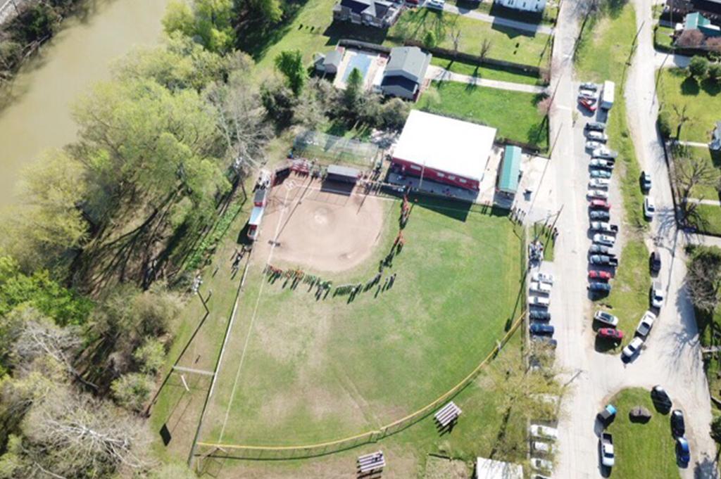 Clendenin Little League Super Saturday Drone Picture. Photo Courtesy: Cole Clendenin