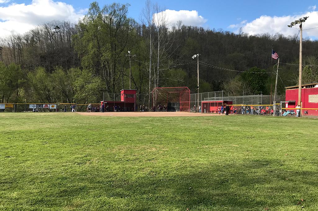 Clendenin Little League Super Saturday View of Field