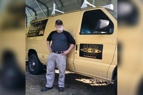 Steven Grau and Elk River Getaway Transport Van in Partnership with Murdock's