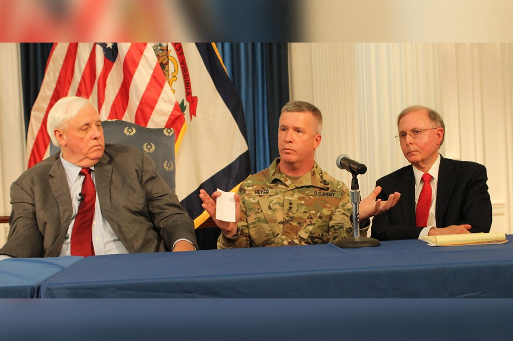 Governor Justice revamps RISE WV and puts General James Hoyer in