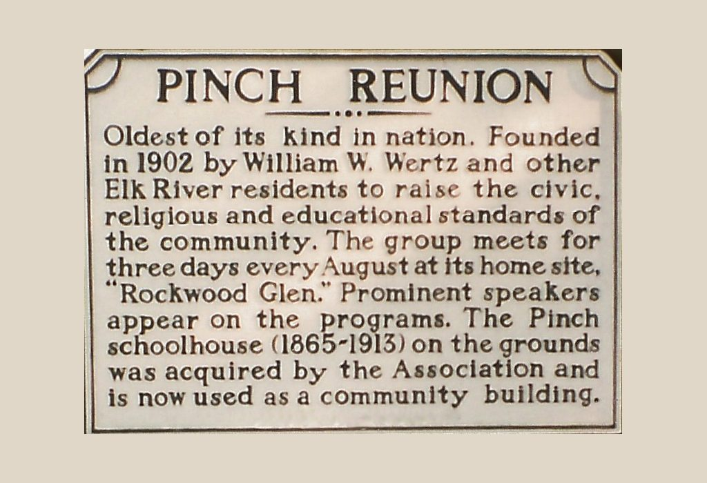 Pinch Reunion - Nation's Longest Running Community Reunion