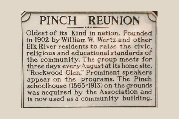 Pinch Reunion - Nation's Longest Running Community Reunion