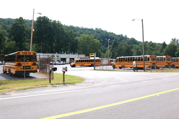 Kanawha County Schools Elkview Bus Garage | Photo Credit: Mark Burdette