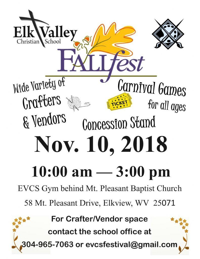 EVCS Fall Fest 2018